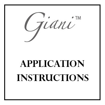 Giani Paint Application Instructions